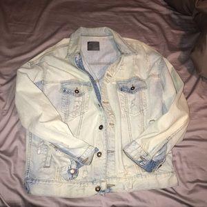 Bleached Jean jacket